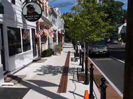 Hampton flange bollards in Penningotn, NJ.